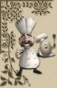 Картофель, овощи и грибы жареные